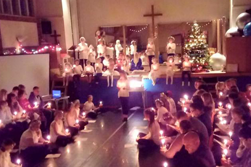 Christmas Eve Christingle